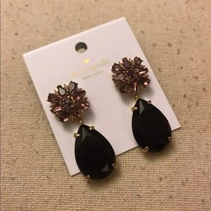 Kate Spade Plum Earrings 💓